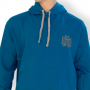 Kapuzenpulli-blau
