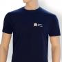 T-Shirt-dunkelblau